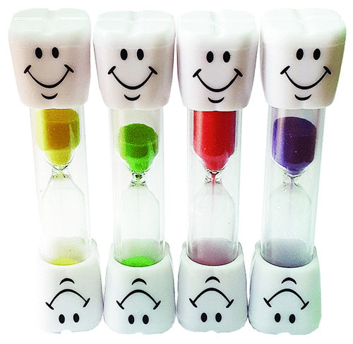 Sanduhr Smile-Top 4 Farben Mix