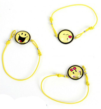 Armband Smiley verstellbar