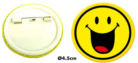 Medaille Smiley