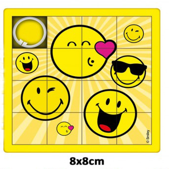 Schiebepuzzle Smiley